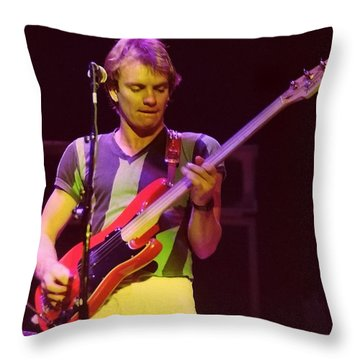 The Police 5 Throw Pillow