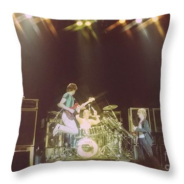 The Police 9 Throw Pillow