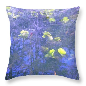 The Pond 1 Throw Pillow
