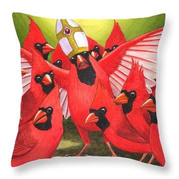The Pontificator Throw Pillow