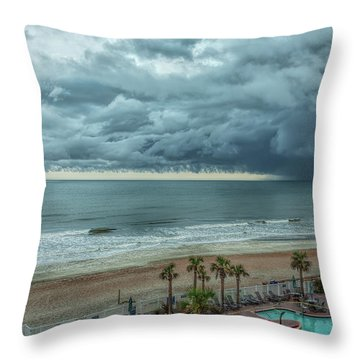 The Pool Is Closed Throw Pillow