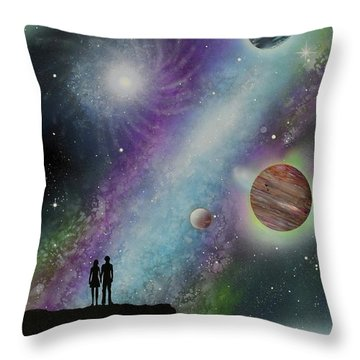 The Possibilities Throw Pillow