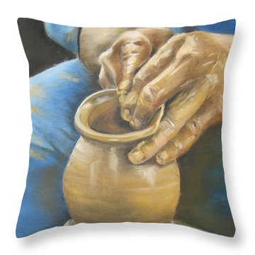 The Potter Throw Pillow