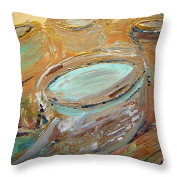 The Potter Canvas Throw Pillow