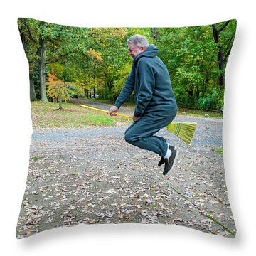 The Potter Effect Throw Pillow by Brian Wallace