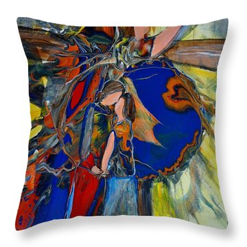 The Power Of Forgiveness Throw Pillow