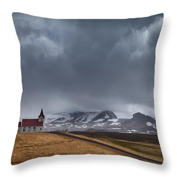 The Power Of God Throw Pillow
