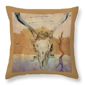 The Power Of Radium Throw Pillow