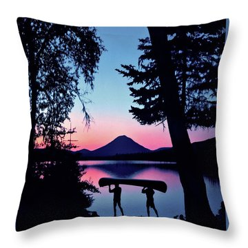 The Power Of Two Throw Pillow