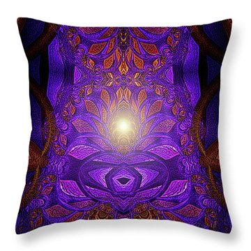 The Power Within Throw Pillow by Mimulux patricia no No