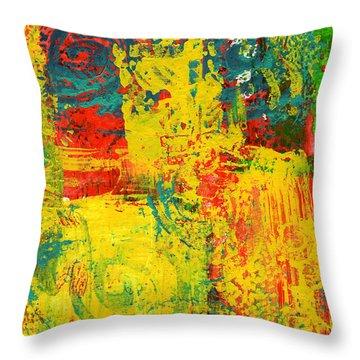 The Power Within Throw Pillow by Wayne Potrafka
