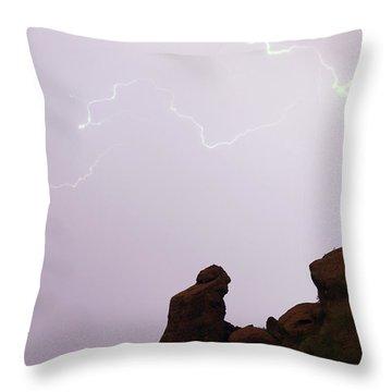 The Praying Monk Phoenix Arizona Throw Pillow by James BO  Insogna