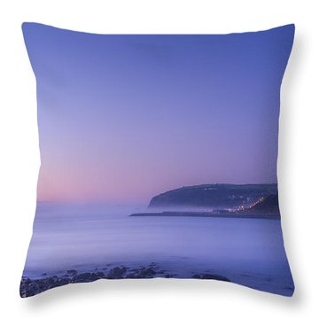 The Predawn Mist Throw Pillow