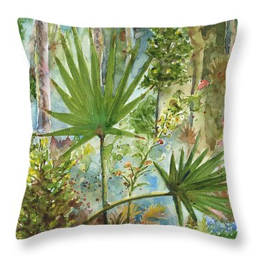 The Preserve Throw Pillow by Arthur Fix
