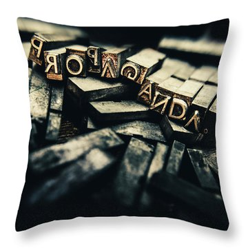 Communication Throw Pillows