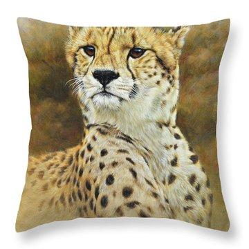 The Prince - Cheetah Throw Pillow