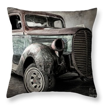 The Project Throw Pillow