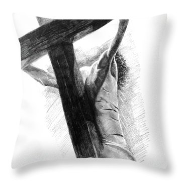 The Promise Throw Pillow by Noe Peralez