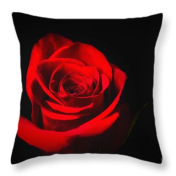 The Promise Of Love Throw Pillow