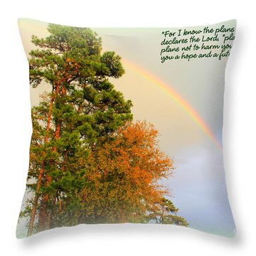 The Promises Of God Throw Pillow
