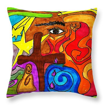The Prophet Throw Pillow