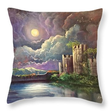 The Proposal Throw Pillow by Randy Burns