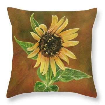 The Proven Light Throw Pillow by Carrie Jackson