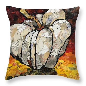 The Pumpkin Throw Pillow