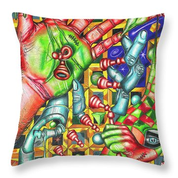 The Quantum Mechanics Of Chess And Life Throw Pillow