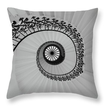 Throw Pillow featuring the photograph The Queens House by David Chandler