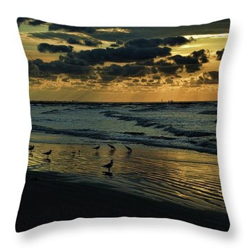 The Quiet In My Soul Throw Pillow
