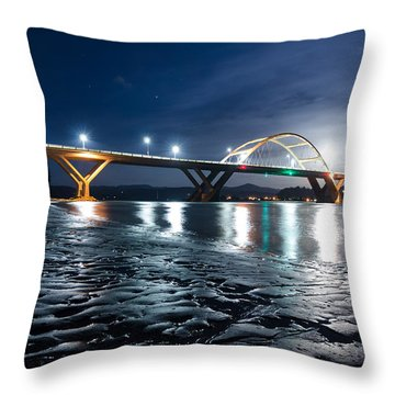 The Quiet Night Throw Pillow