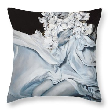 The Quintessence Of Matter Throw Pillow