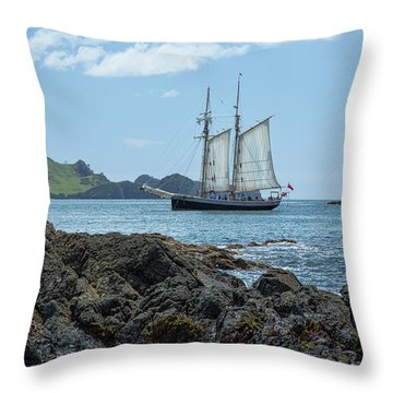 The R Tucker Thompson Throw Pillow