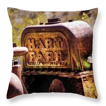 The Radiator Throw Pillow