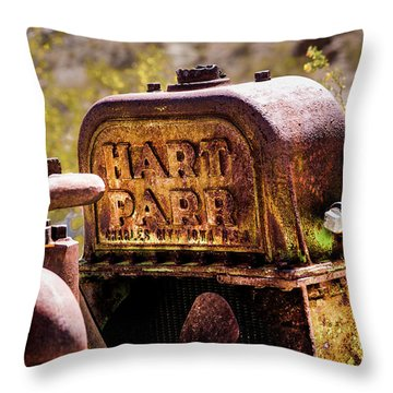 The Radiator Throw Pillow