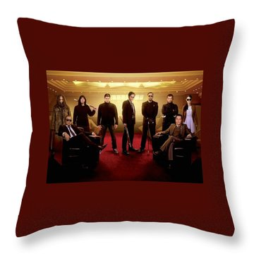 The Raid 2 Throw Pillow