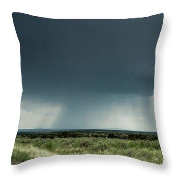 The Rain Storm Throw Pillow