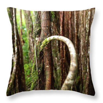 The Rainforest Throw Pillow