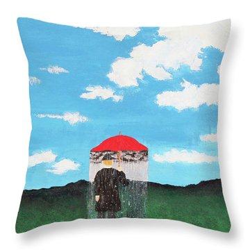 The Rainmaker Throw Pillow