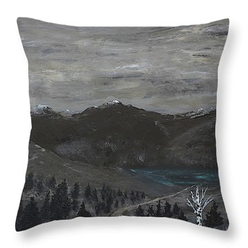 The Range Throw Pillow