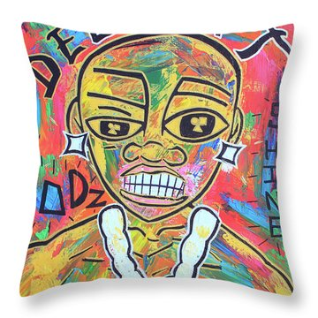 The Rappers Delight  Throw Pillow