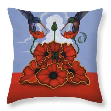 The Ravishers Throw Pillow