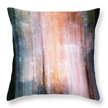 The Realm Of Light Throw Pillow by Steven Huszar