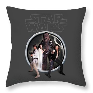 The Rebels Throw Pillow