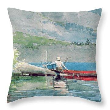 Angler Throw Pillows