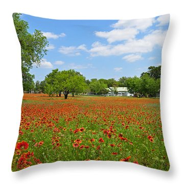 The Red Carpet Throw Pillow