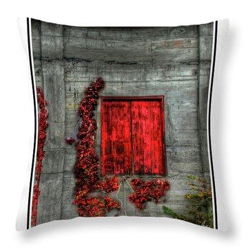 The Red Loft Throw Pillow