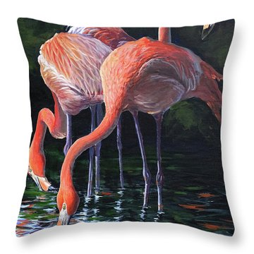 The Red Princes Of The South Throw Pillow