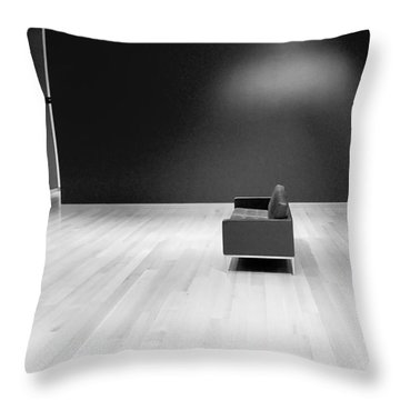 The Red Room Redux Throw Pillow